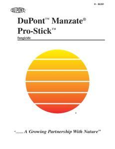 DuPont Manzate Pro-Stick fungicide