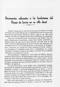 Duque de Lema en su villa ducal
