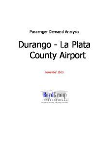 Durango - La Plata County Airport