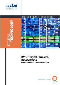 DVB-T Digital Terrestrial Broadcasting (Explanatory and Technical Handbook)