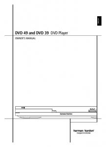 DVD 49 and DVD 39 DVD Player