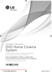 DVD Home Cinema System