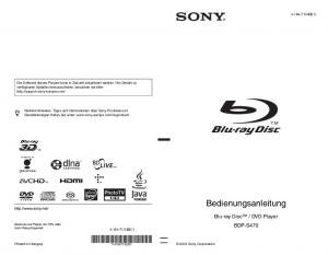 DVD Player BDP-S (1)