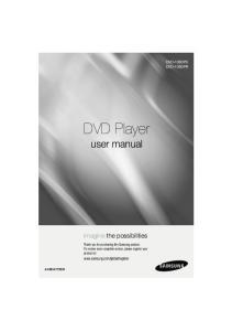 DVD Player user manual