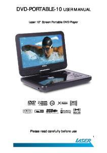 DVD-PORTABLE-10 USER MANUAL