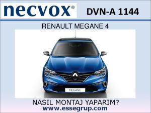 DVN-A 1144 RENAULT MEGANE 4 NASIL MONTAJ YAPARIM?
