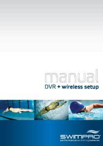 DVR + wireless setup