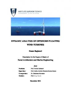 DYNAMIC ANALYSIS OF OFFSHORE FLOATING WIND TURBINES