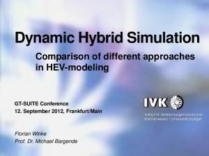 Dynamic Hybrid Simulation