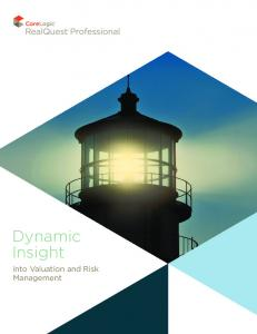 Dynamic Insight. into Valuation and Risk Management