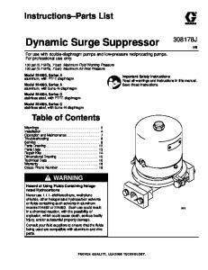 Dynamic Surge Suppressor