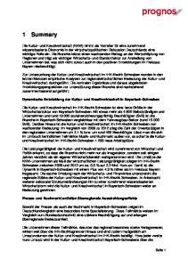 Dynamische Entwicklung der Kultur- und Kreativwirtschaft in Bayerisch-Schwaben