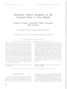 Dysplasia of the A Case Report