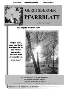 E C E C. 18.Ausgabe Oktober 2012