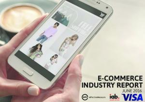 E-COMMERCE INDUSTRY REPORT JUNE 2016