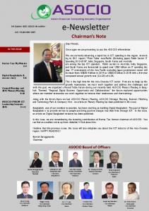 e-newsletter Chairman s Note
