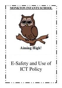 E-Safety and Use of ICT Policy