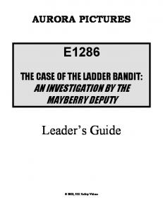 E1286. Leader s Guide