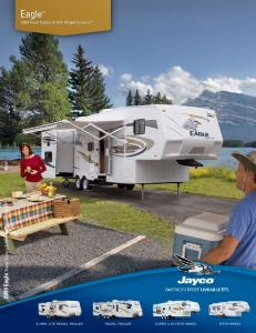 Eagle Travel Trailers & Fifth Wheels by Jayco Eagle Travel Trailers & Fifth Wheels by Jayco