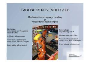 EAGOSH 22 NOVEMBER 2006