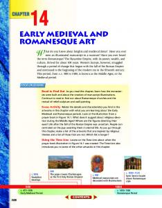 Early Medieval and Romanesque Art
