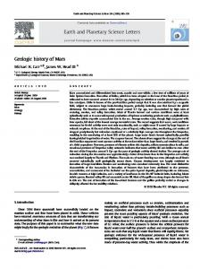 Earth and Planetary Science Letters