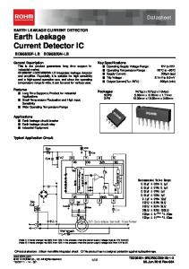 Earth Leakage Current Detector IC
