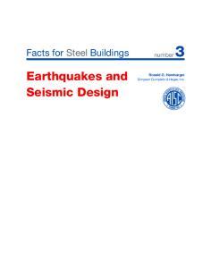 Earthquakes and Seismic Design