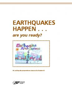 EARTHQUAKES HAPPEN