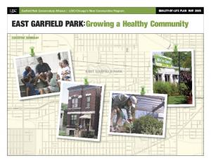 EAST GARFIELD PARK:Growing a Healthy Community