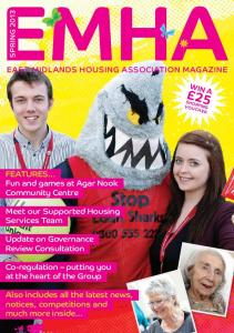 EAST MIDLANDS HOUSING ASSOCIATION MAGAZINE