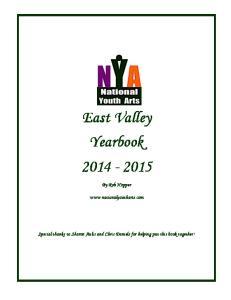East Valley Yearbook