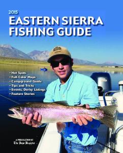 EastErn sierra Fishing guide