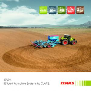EASY. Efficient Agriculture Systems by CLAAS