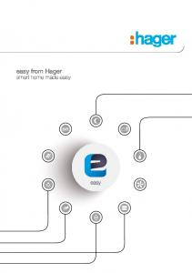 easy from Hager smart home made easy
