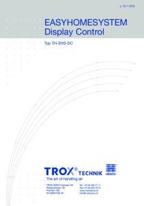 EASYHOMESYSTEM Display Control