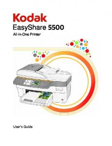 EasyShare All-in-One Printer. User s Guide