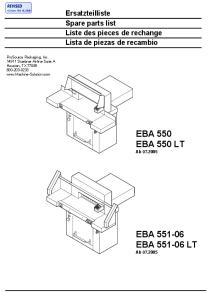 EBA 550 EBA 550 LT Ab