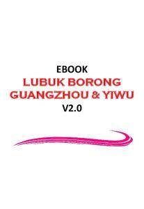 EBOOK LUBUK BORONG GUANGZHOU & YIWU V2.0