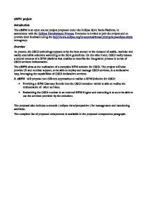 ebpm project Introduction ebpm Overview ebpm ebpm