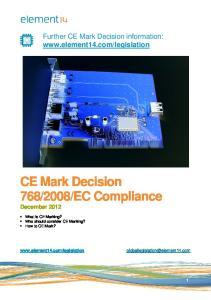 EC Compliance December 2012