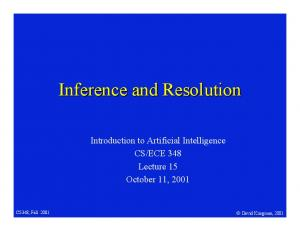 ECE 348 Lecture 15 October 11, 2001
