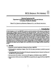 ECG SIGNAL FILTERING 8