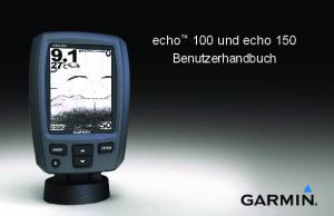 echo 100 und echo 150 Benutzerhandbuch