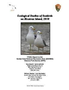 Ecological Studies of Seabirds on Alcatraz Island, 2010