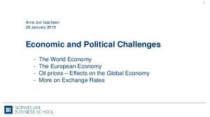 Economic and Political Challenges