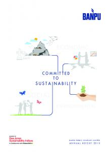 ECONOMIC COMMITTED TO SUSTAINABILITY SOCIAL ENVIRONMENTAL