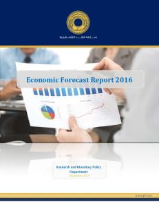 Economic Forecast Report 2016