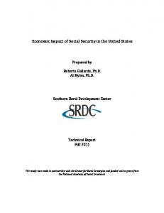 Economic Impact of Social Security in the United States