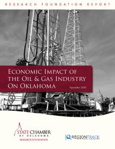 Economic Impact of the Oil & Gas Industry On Oklahoma